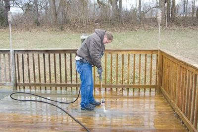 Deck Power Washing Chattanooga