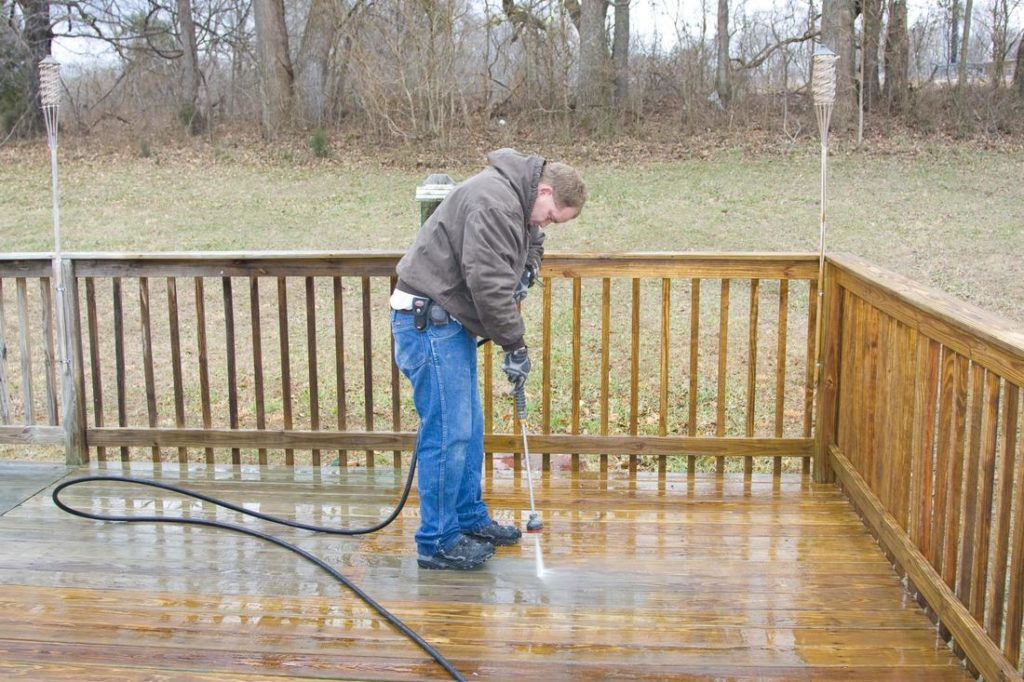 Deck Pressure Washing Chattanooga