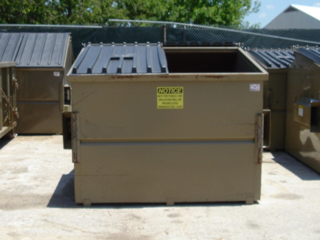 Dumpster Pad Pressure Washing Chattanooga